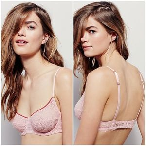NWOT Free People Cheeky Lace Bra 32D